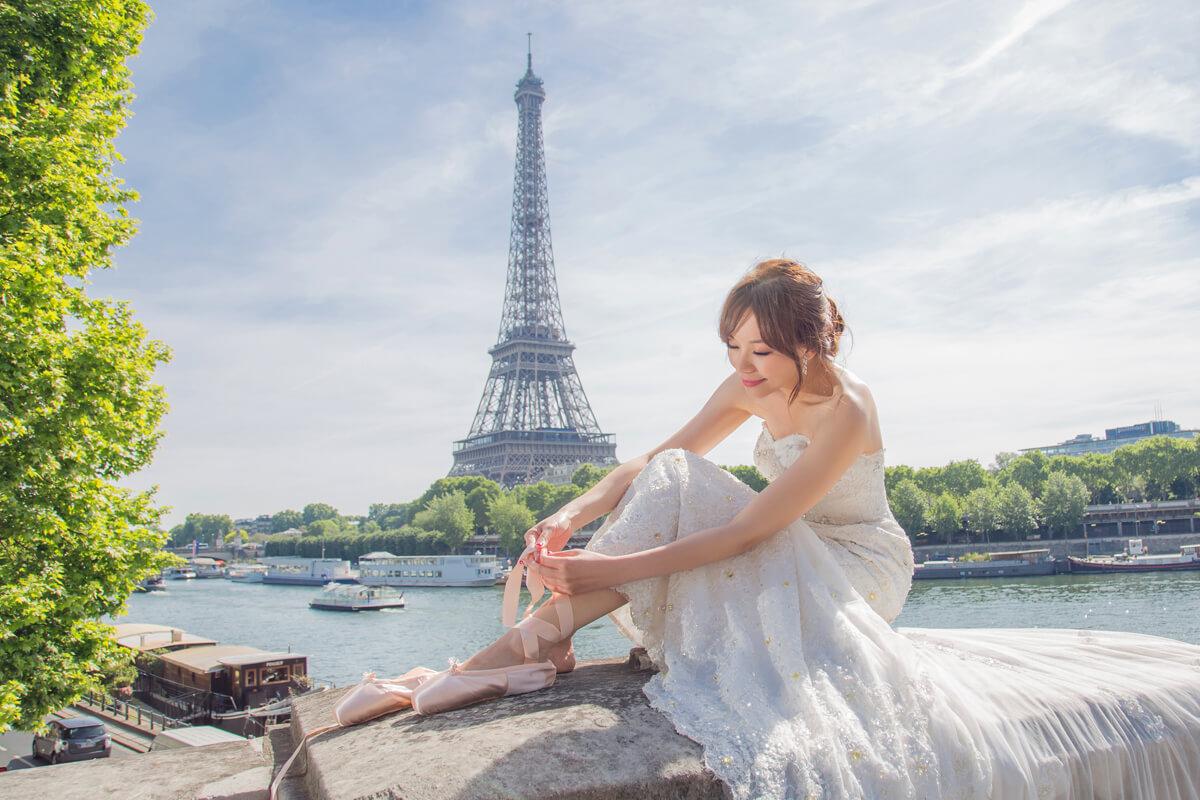 巴黎婚紗,巴黎鐵塔,歐洲婚紗