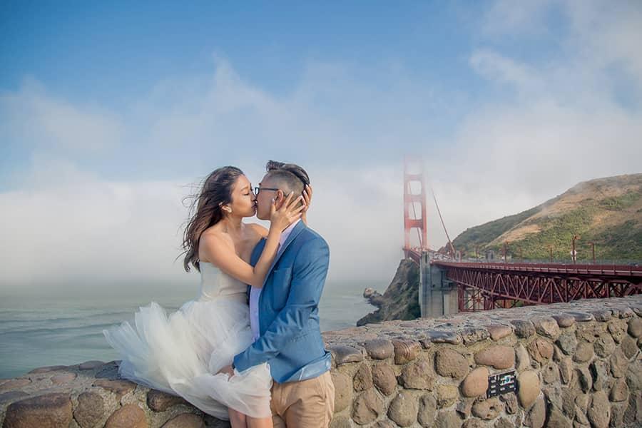 舊金山婚紗,海外婚紗,金門大橋,舊金山,洛杉磯,美國婚紗