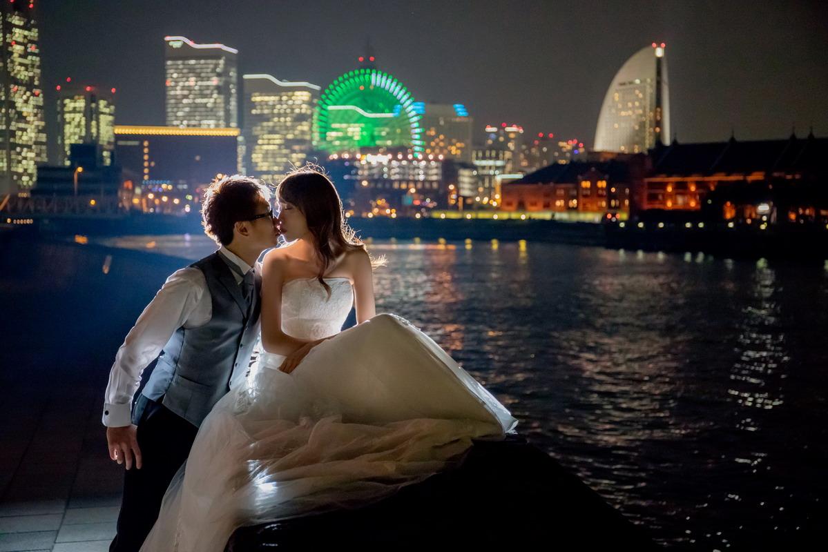 東京婚紗,海外婚紗,橫濱婚紗,東京,寫真,結婚式,