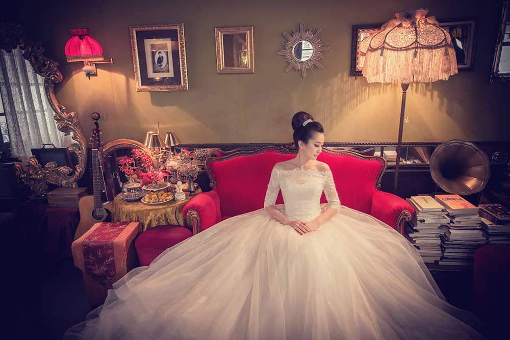 自助婚紗,婚紗工作室,婚紗攝影,復古婚紗,旗袍婚紗,保安宮,秘室咖啡,台北婚紗,棚拍婚紗