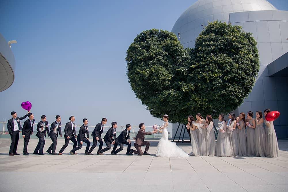 澳門婚禮,海外婚禮,婚禮攝影,澳門婚禮,澳門愛心樹