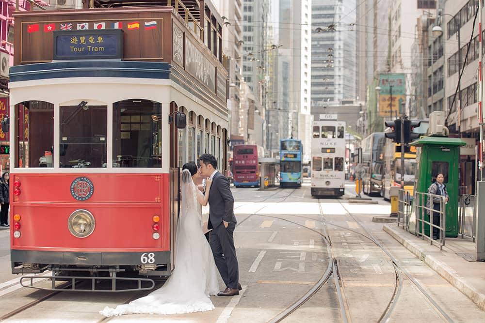 香港婚紗攝影,香港婚紗,海外香港婚紗,海外婚紗婚禮,香港自助婚紗,香港叮叮車