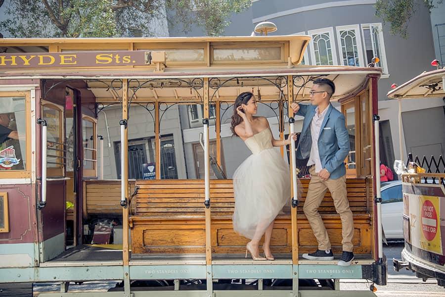 舊金山叮叮車,舊金山婚紗,海外婚紗,金門大橋婚紗,舊金山婚攝,舊金山婚禮,OVERSEA san francisco,婚攝推薦,舊金山海外婚紗