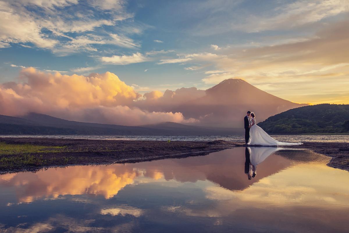 富士山婚紗,富士山櫻花,富士山楓葉,河口湖婚紗,海外婚紗,日本自助,婚紗攝影,日本海外婚紗,東京婚紗