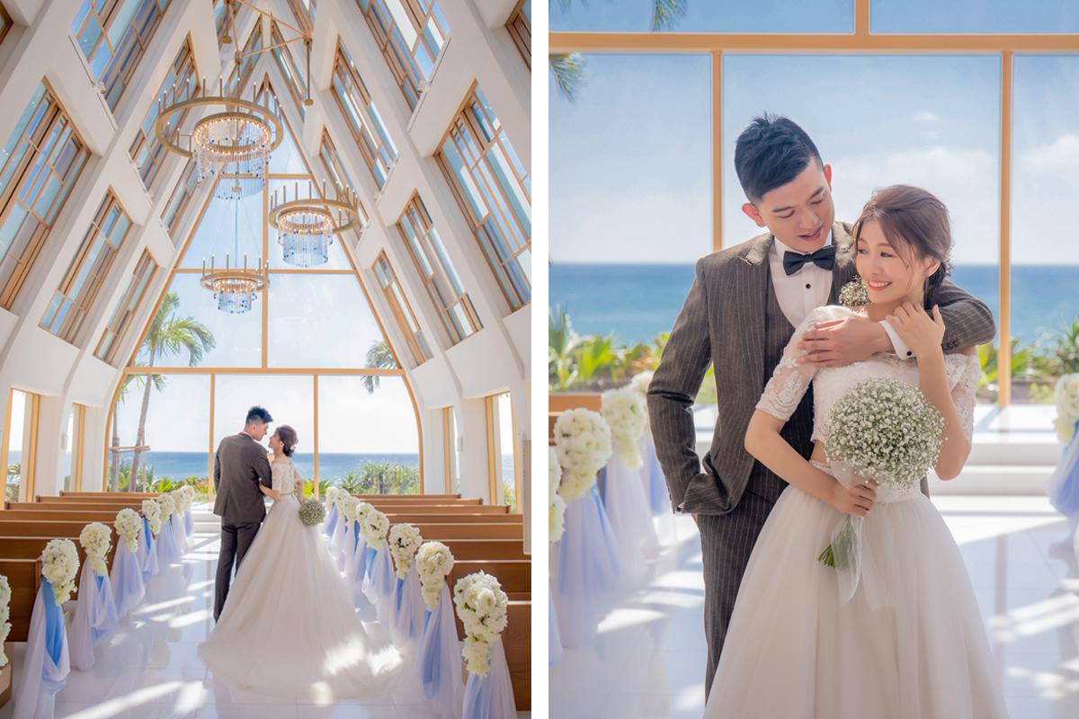 沖繩婚禮,沖繩教堂,沖繩婚禮推薦,沖繩婚紗,海外婚禮,海島婚禮,婚禮攝影,美之教會