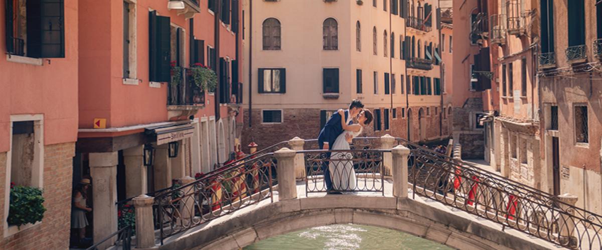 義大利婚紗,海外婚紗,威尼斯婚紗,蜜月婚紗,歐洲婚紗,彩色島,