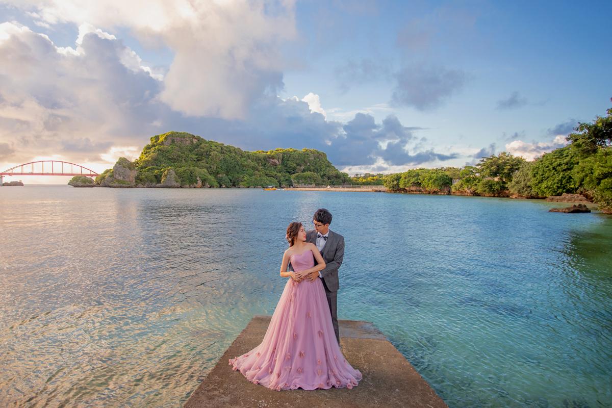 沖繩婚紗,海外婚紗,新原海灘,沖繩伊計島,沖繩自助,婚紗攝影