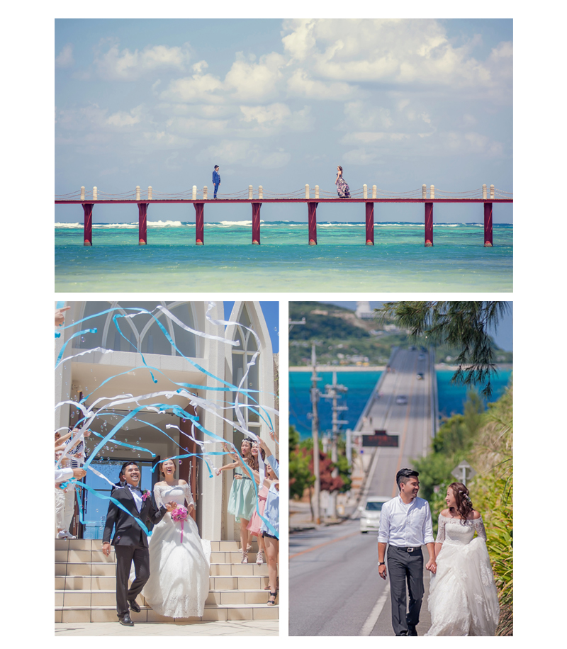 沖繩婚禮,海外婚紗,沖繩婚紗