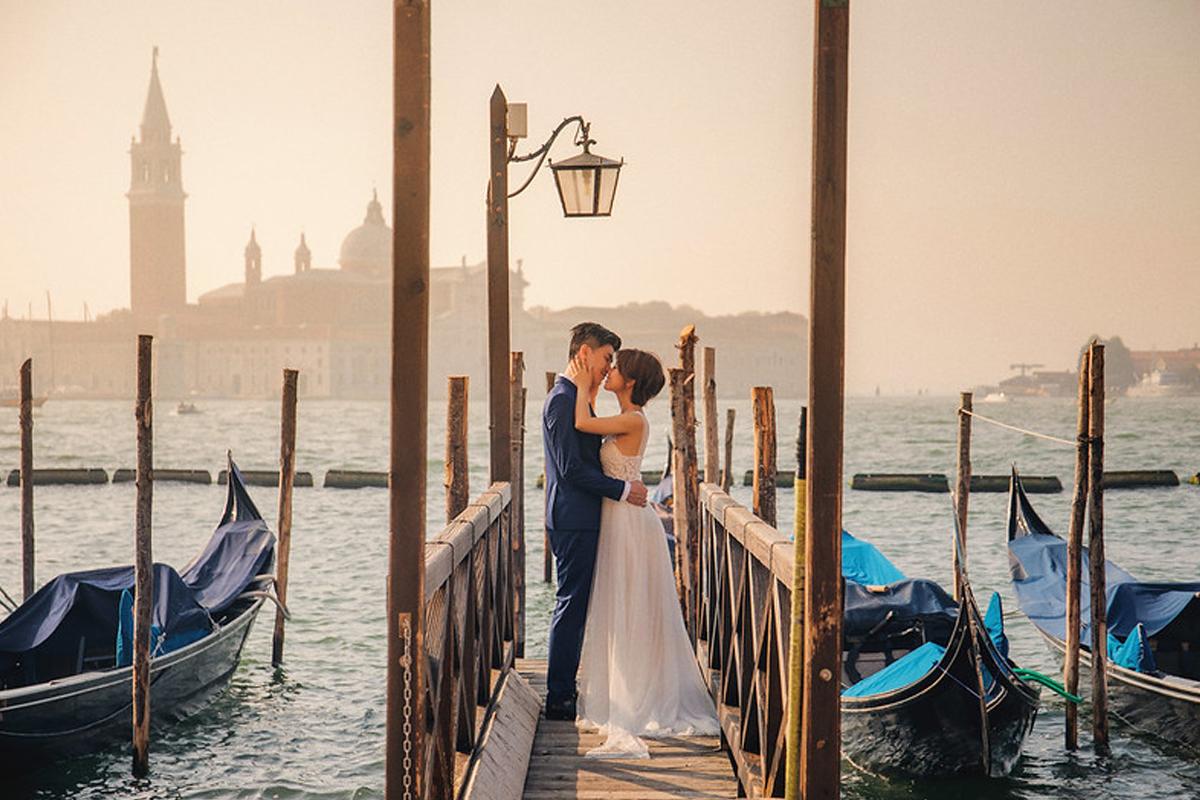 義大利婚紗,海外婚紗,威尼斯婚紗,蜜月婚紗,歐洲婚紗,威尼斯彩色島