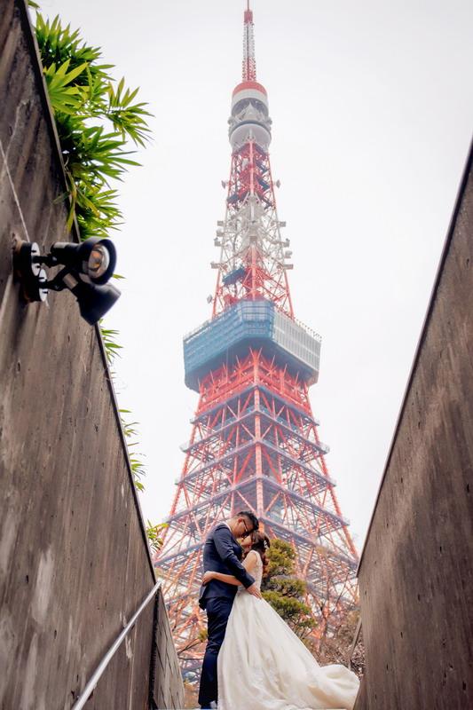 東京婚紗,櫻花婚紗,東京雷門,東京鐵塔,櫻花季,東京晴空塔,婚紗景點