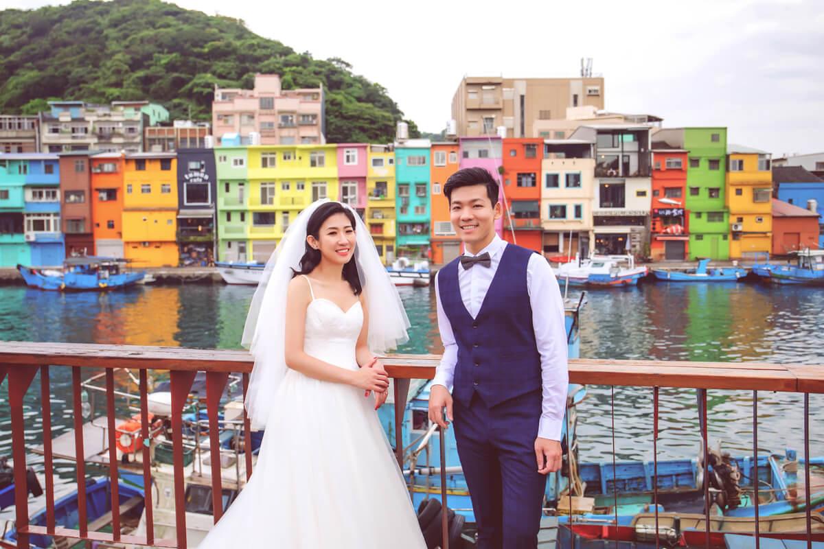 基隆旅拍婚紗,基隆廟口,台北婚紗,婚紗攝影,appleface,基隆威尼斯