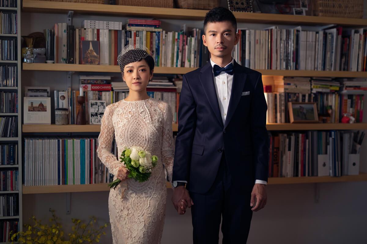 棚拍婚紗,經典婚紗,黑白復古婚紗,台北婚紗工作室,居家婚紗