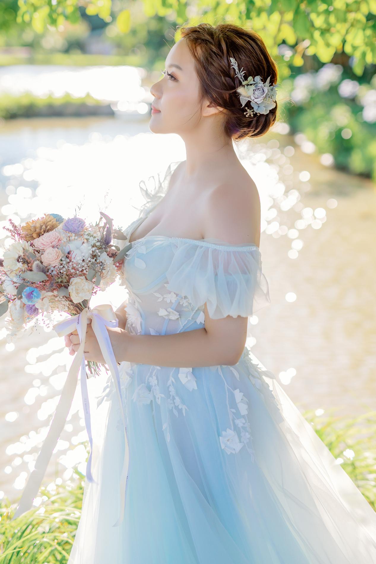 婚紗攝影,自助婚紗,繡球花婚紗,婚紗照,淸新婚紗,夕陽婚紗,草原婚紗,婚紗照推薦